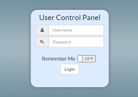 freepbx user control panel login